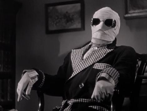 Invisible_man movie clip, public domain