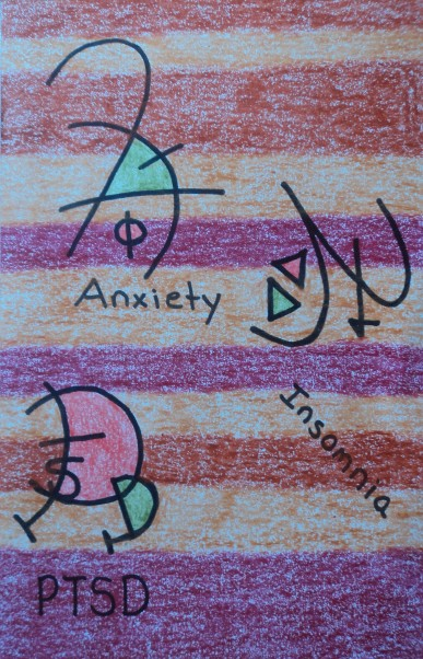 Symbolic Artwork for Depression, Anxiety, Bipolar, PTSD, and