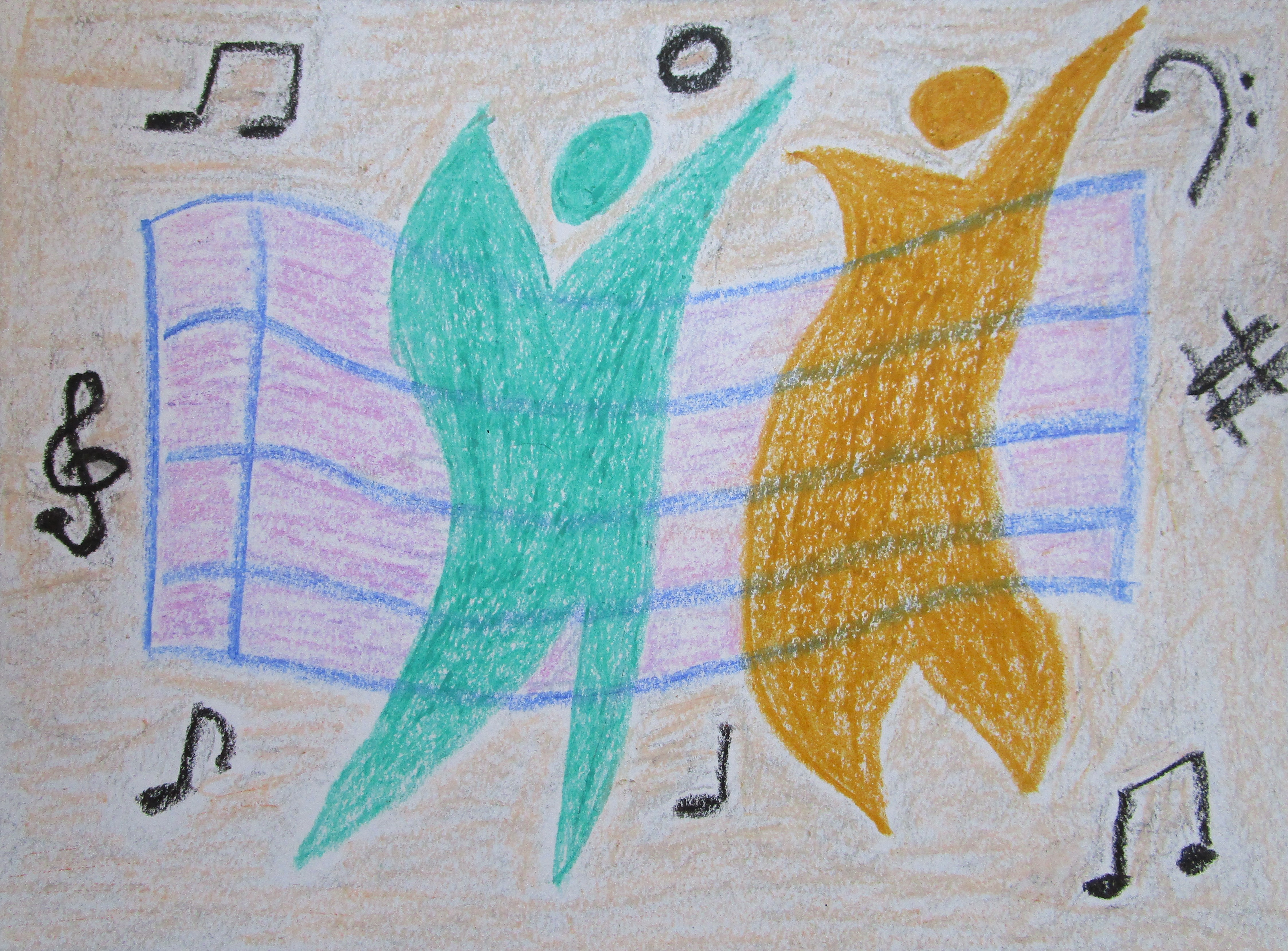 MarandaRussell_FeeltheMusic_9x12inches